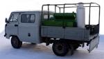 фото Автомобиль специальный с установкой подвижной дезинфекционной УД-1, УД-2 на платформе автомобиля УАЗ-330365, 390945